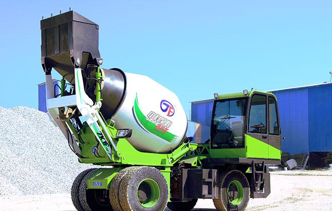 3.5方A款 自动上料搅拌运输罐车