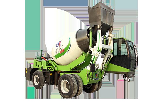 自上料搅拌车与运输的混凝土密度有什么关系?